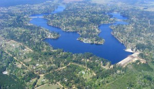 Aerial Photo of Lakes